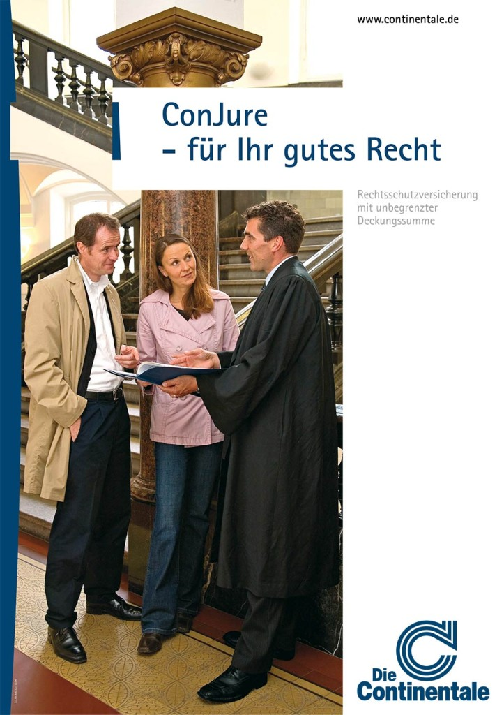ConJure - Die Rechtsschutzversicherung der Continentale