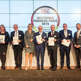 Dritte Auszeichnung mit dem Deutschen Fairness-Preis