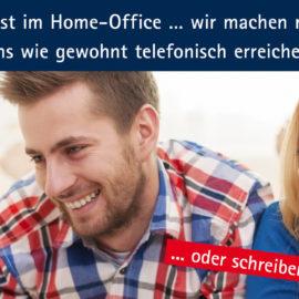 Deutschland ist im Home-Office… wir machen mit